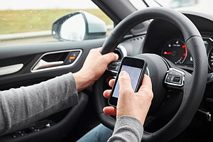Young Men, Frequent Drivers Most Likely To Get Distracted While Driving
