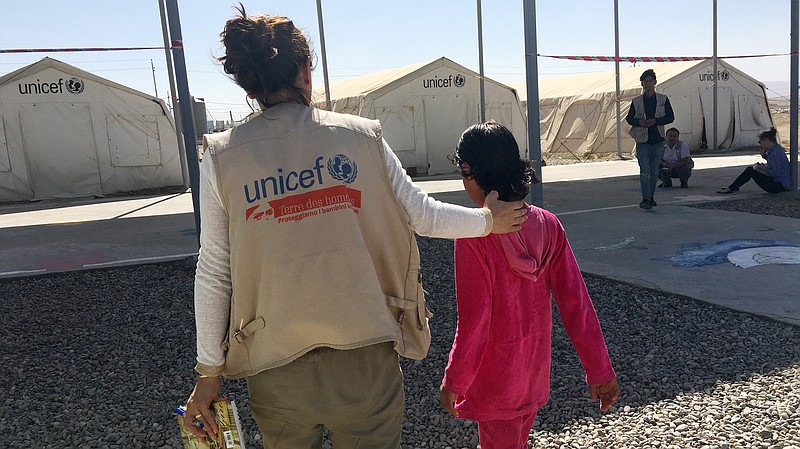 Traumatized And Vulnerable To Abuse Orphans From Mosul Are Living