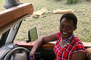 Female Safari Guide: 'I Am A Lady But I Am Telling You, I...