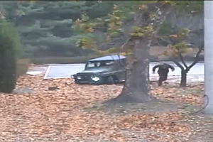 Video Shows North Korean Soldier's Dramatic Sprint Across...