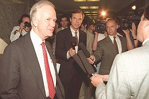 When Bob Packwood Was Nearly Expelled From The Senate For...