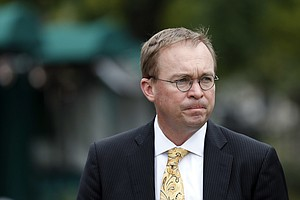 Mulvaney Shows Up For Work At Consumer Watchdog Group, As...
