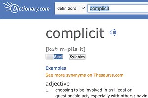 'Complicit' Is The Word Of The Year In 2017, Dictionary.com Says