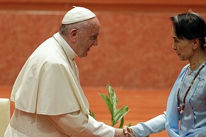 In Myanmar, Pope Calls For Unity And Tolerance, But Doesn...