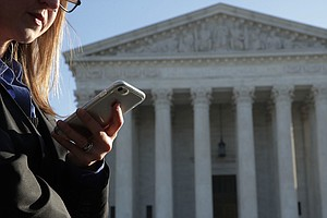Justices May Impose New Limits On Government Access To Cellphone Data
