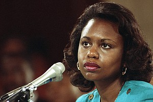 For Years, Anita Hill Was A 'Canary In The Coal Mine' For...
