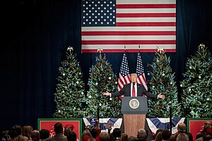 FACT CHECK: Trump's Pledge To Restore 'Merry Christmas' To The White House
