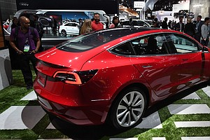 Tesla Going At 'Warp Speed,' But Lags In Race To Produce Mass Market Electric...