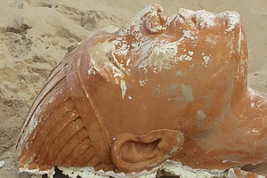 Californian Archaeologists Unearth A Not-So-Ancient Egyptian Sphinx