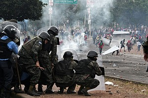 Honduras On The Brink: Curfew Enforced By Military, Opposition Calls For New ...