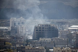 Bloody Battles Waged On The Streets Of Yemen's Capital, A...