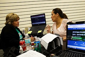 ACA Navigators Are Busy With Sign-Ups, Despite Federal Cuts To Outreach