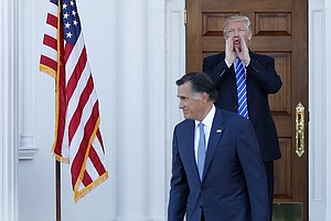 Is Trump Waging A Hidden Campaign Against Mitt Romney?