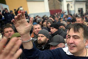 Ex-Georgian President Escapes Custody In Dramatic Confron...