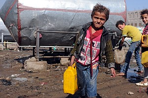 How Bad Are Things In Yemen? We Asked An Aid Worker Holed Up In A Basement