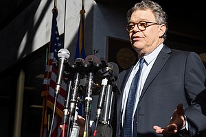 Al Franken Under Pressure As Group Of Democratic Senators...