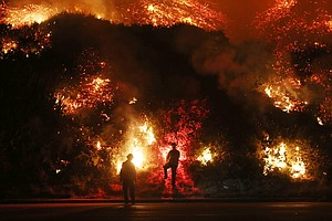 Southern California Fires Surpass 115,000 Acres As Santa ...