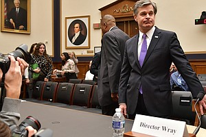 FBI Director Christopher Wray Testifies Before House Judi...