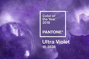 Purple Is The Color Of The Year For 2018