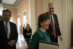 Doubts Rise About Sen. Collins' Strategy To Shore Up Insu...
