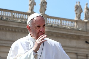 Pope Francis Suggests Changing The Words To The 'Lord's P...