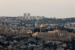 To Some Zionist Christians And Jews, The Bible Says Jerusalem Is Israel's Cap...