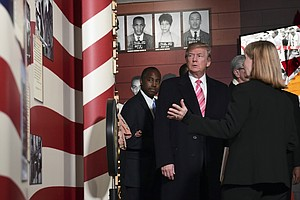 Trump Attends Opening Of Mississippi Civil Rights Museum ...