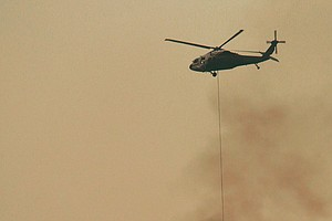 California's Thomas Fire 25 Percent Contained