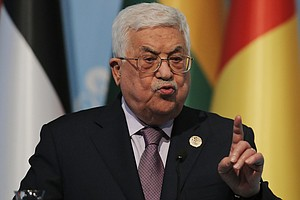Abbas Says U.S. Shouldn't Lead Mideast Peace Process, Citing Jerusalem Policy