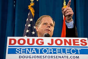 Post-Alabama, Democrats See A Slim Path To A Senate Major...