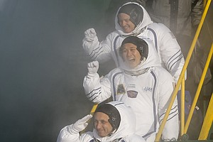 Astronaut Trio Heads For Space Station To Continue Scient...