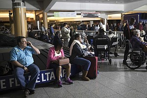 Airport Power Restored In Atlanta But Thousands Are Stranded