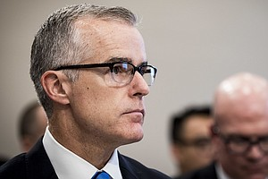 Senior FBI Official McCabe To Face Closed-Door Grilling From House Lawmakers