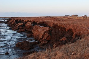 For Alaskan Coastal Village, Erosion Hits Home