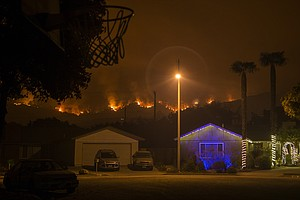 After A Wildfire, Making A Holiday Among The Ashes