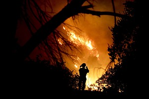 As Winds Rise Once More, Firefighters Fear 'Flare-Up' In ...