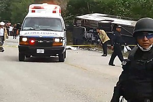 8 Americans Among The Dead In Yucatan Bus Crash