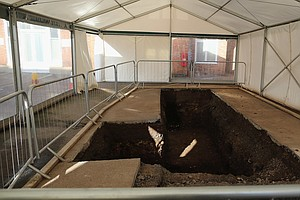 English Car Park Where Remains Of Richard III Were Found ...