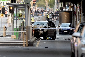 Australian Prime Minister Calls Melbourne Vehicle Attack ...