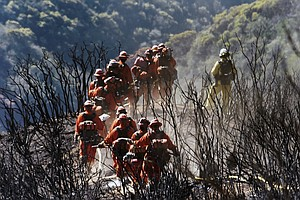 Thomas Fire Is Now California's Largest Wildfire In History
