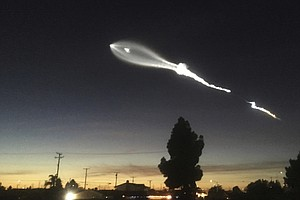 SpaceX Rocket Launch Lights Up The California Sky, Freaks Out Some Residents