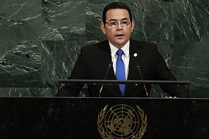 Guatemala Follows U.S. Lead, Will Move Its Israel Embassy...
