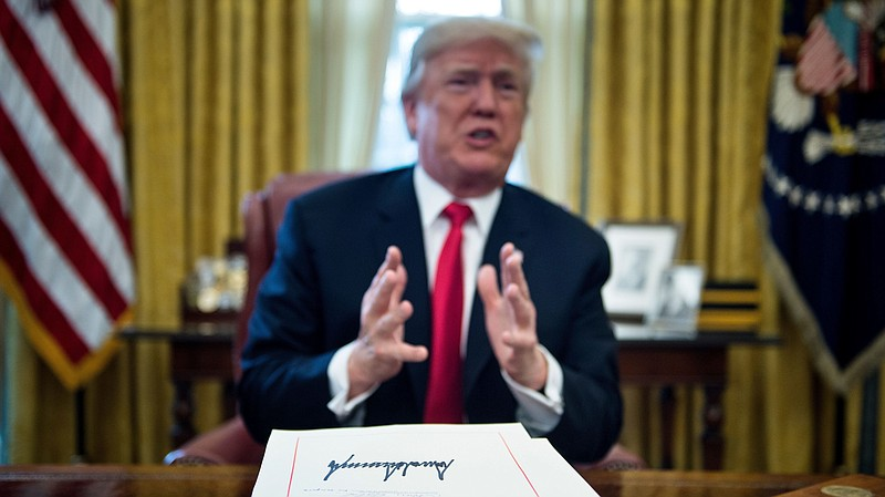 Trump Signed 96 Laws In 2017  Here Is What They Do And How