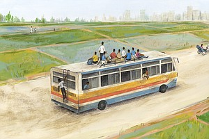 Want To Help Someone In A Poor Village? Give Them A Bus T...