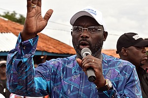 Liberia Elects Soccer Star George Weah Its Next President