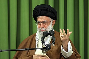 Iran's Supreme Leader Blames Tehran's 'Enemies' For Incit...