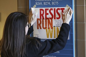 Resisting Trump, Surge In Democratic Women Ask: How Do I Run For Office?
