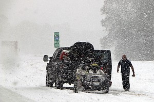 Winter Storm Rakes East Coast, Bringing Snow To Florida, ...