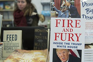The New Year Rings In With 'Fire And Fury.' It Might Mean...