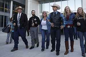 Judge Dismisses Federal Case Against Cliven Bundy And Son...